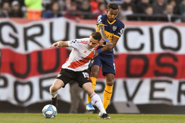 322018_Santos Borré vs Sebastián Villa en el superclásico