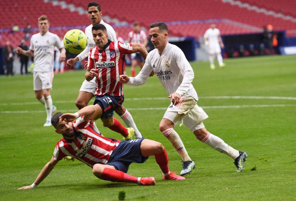 Atletico de Madrid v Real Madrid