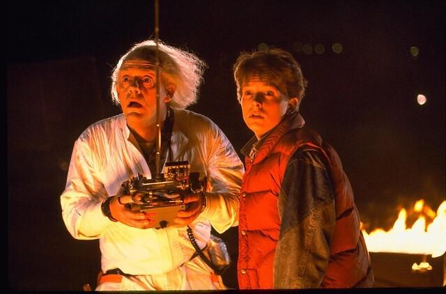 Marty McFly y el 'Doc', de 'Volver al Futuro', se reunieron 36 años después del estreno de la saga