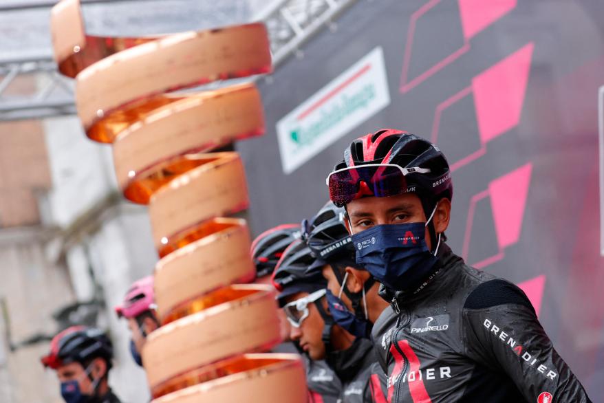 Egan Bernal es uno de los favoritos al título del Giro de Italia 2021.