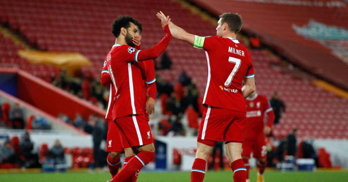 Liverpool no brilló en la Champions League, pero ganó: derrotó 2-0 al Midtjylland