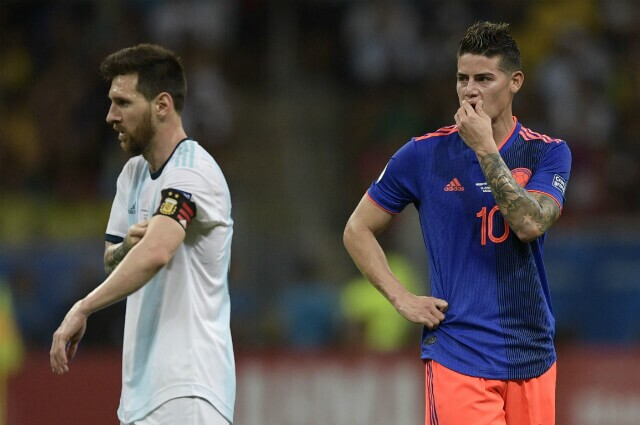 316764_James Rodríguez y Lionel Messi