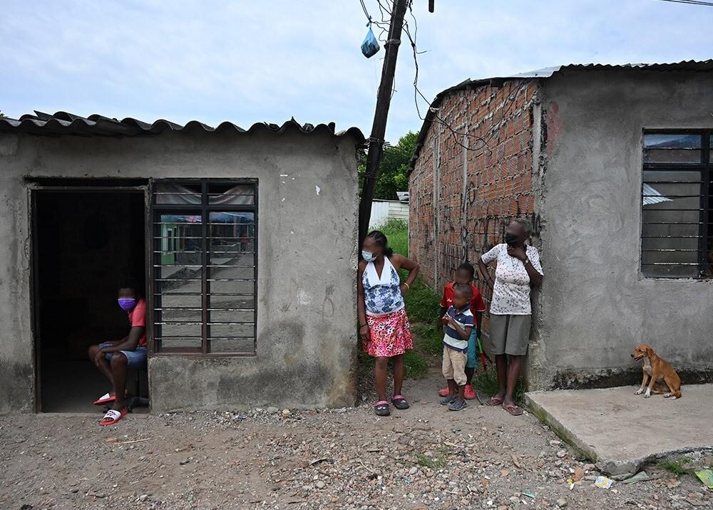 Pobreza en Colombia / AFP