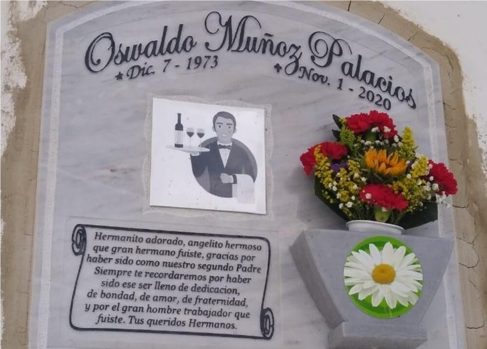 Oswaldo Muñoz hombre asesinado en Transmilenio foto suministrada.jpg