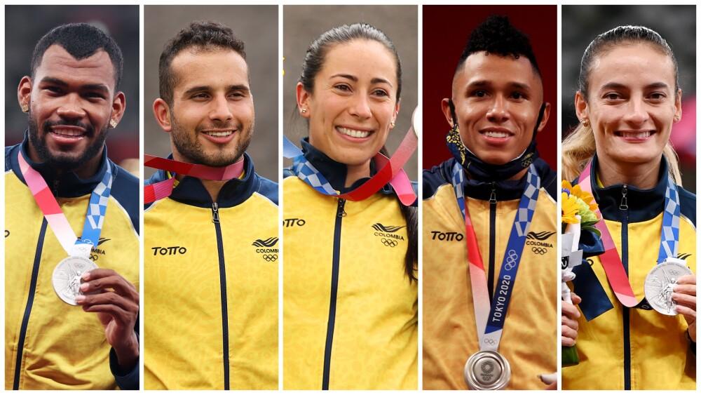 Deportistas colombianos que ganaron medalla en los Juegos Olímpicos Tokio 2020