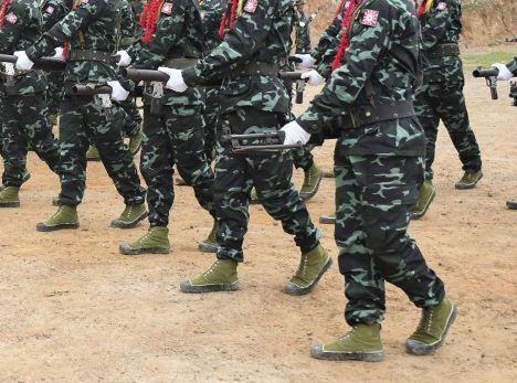 militares myanmar Birmania