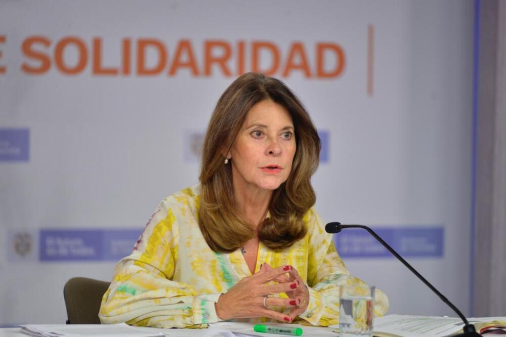Vicepresidenta Marta Lucía Ramírez. Foto: Cortesía
