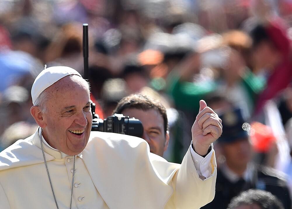 83251_BLU Radio. Foto: Papa Francisco AFP