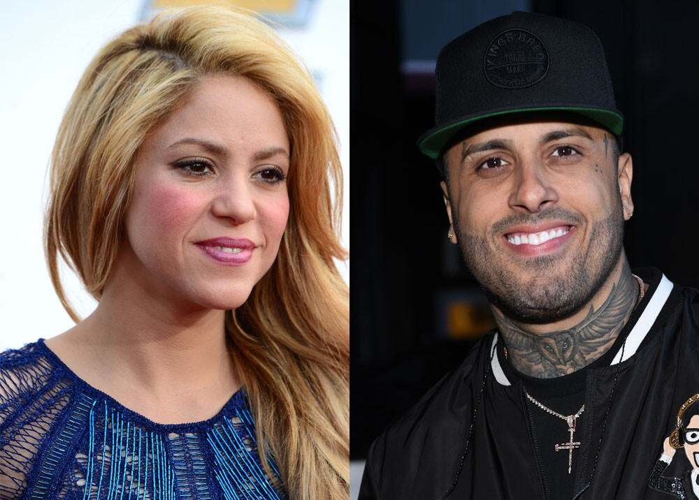 5427_La Kalle - Shakira y Nicky Jam en Perro Fiel - Foto: AFP