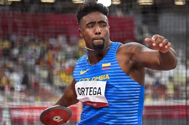 Mauricio Ortega, en los Juegos Olímpicos de Tokio 2020