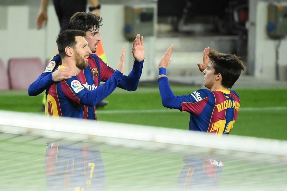 Gol Lionel Messi Barcelona vs Alavés