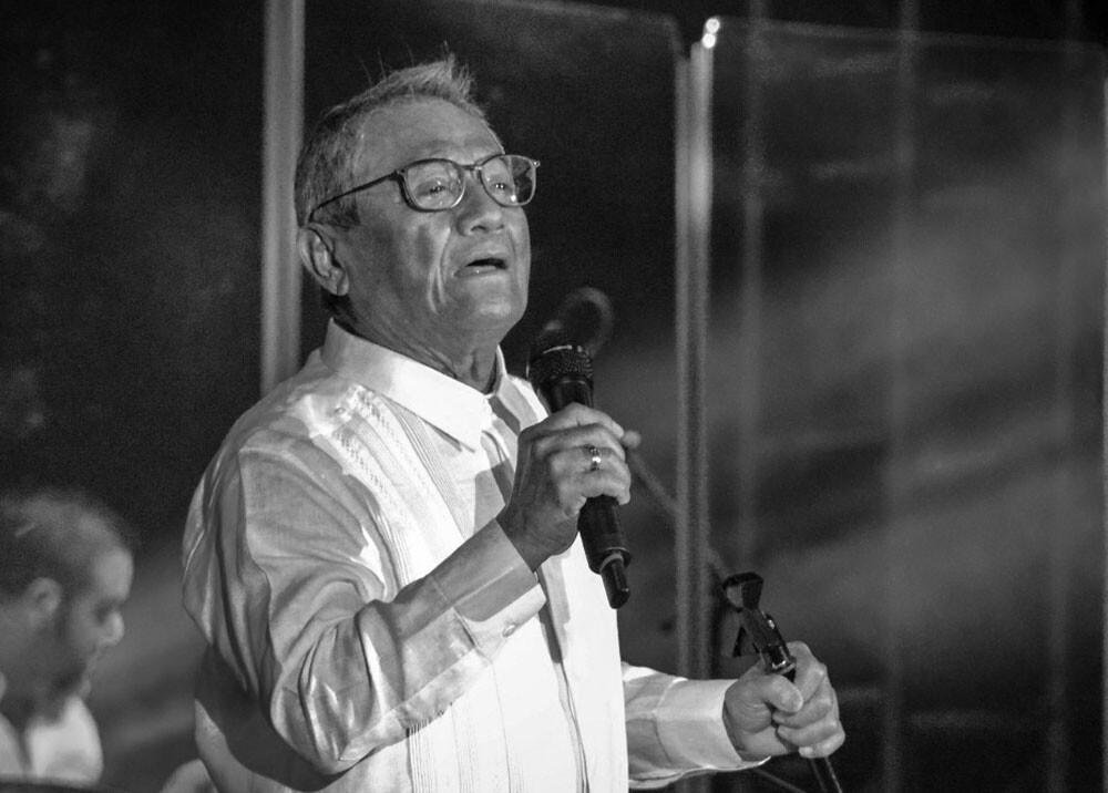 Armando Manzanero. Foto AFP
