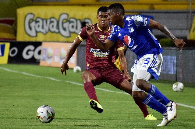 Millonarios contra Tolima, en la final de la liga colombiana