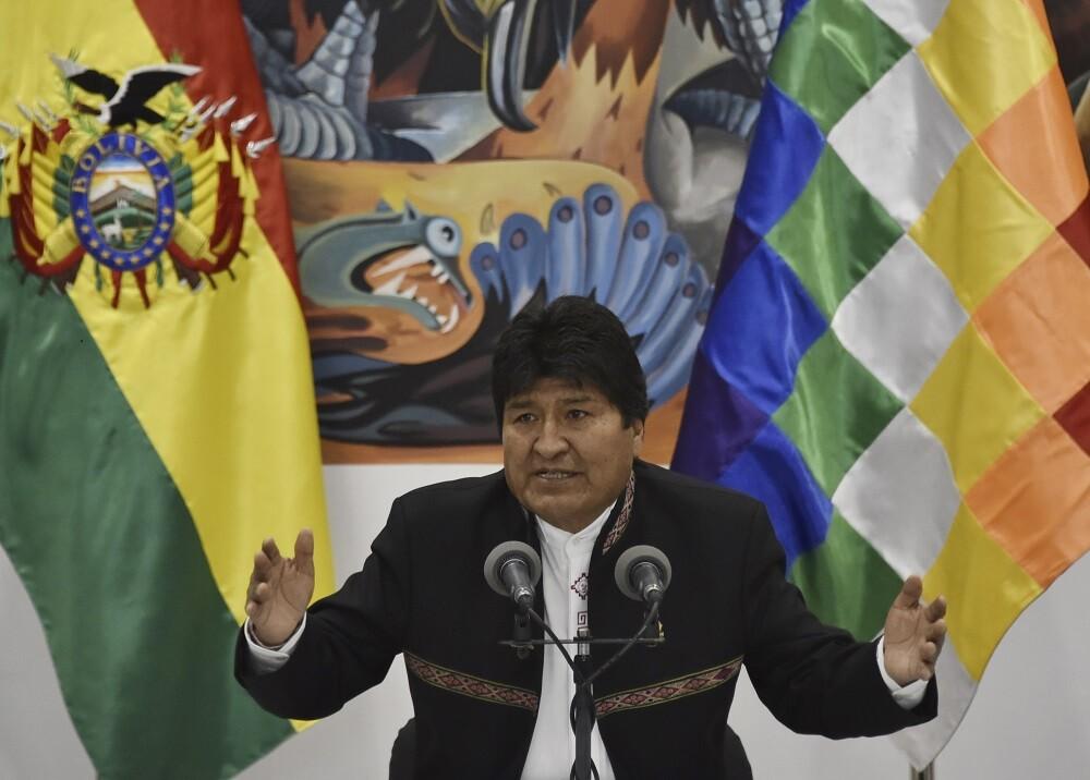 346678_BLU Radio. Evo Morales // Foto: AFP