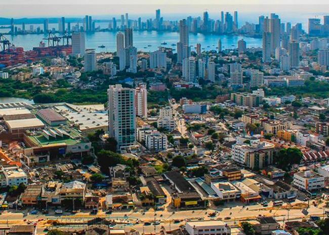 335083_BLU Radio. Panorámica de Cartagena / Foto: Twitter Supernotariado