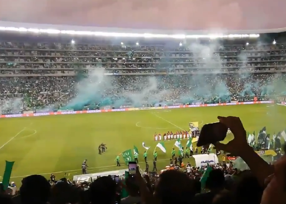 347552_BLU Radio. Estadio Palmaseca // Foto Twitter: Captura de video @AsoDeporCali
