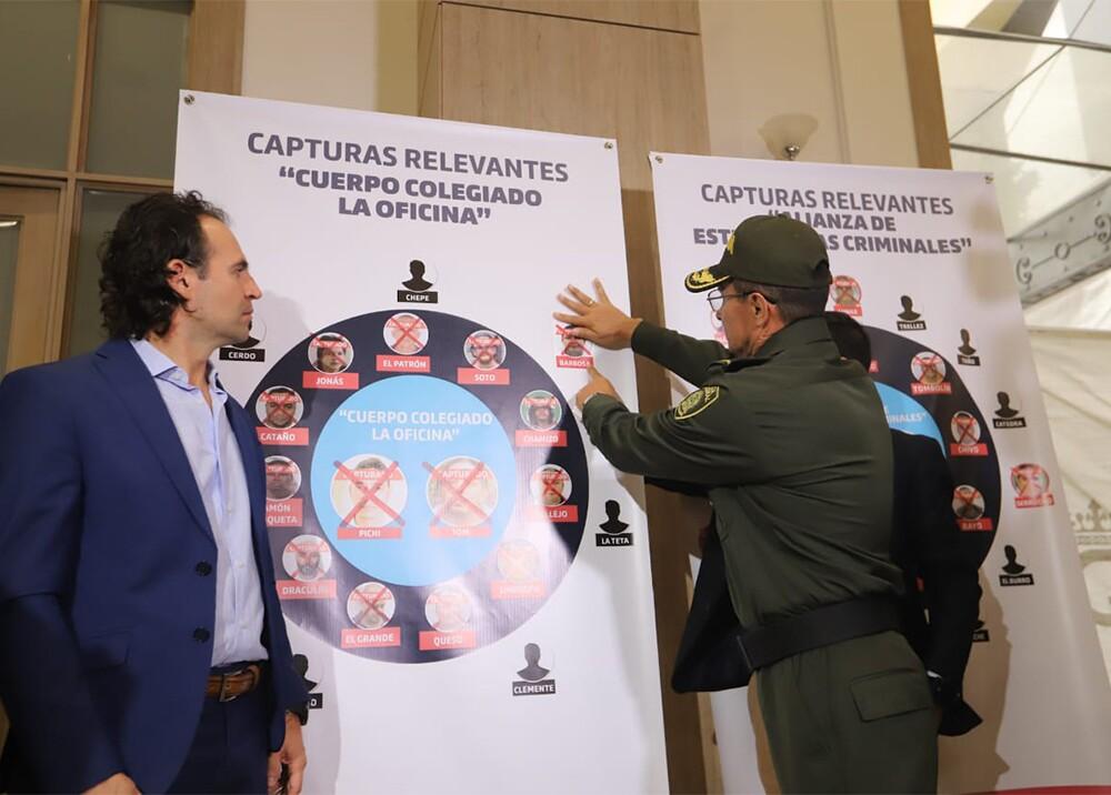 333651_BLU Radio. Organigrama del cuerpo colegiado de La Oficina / Foto: Alcaldía de Medellín