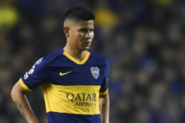 333041_Jorman Campuzano, volante Boca Juniors.