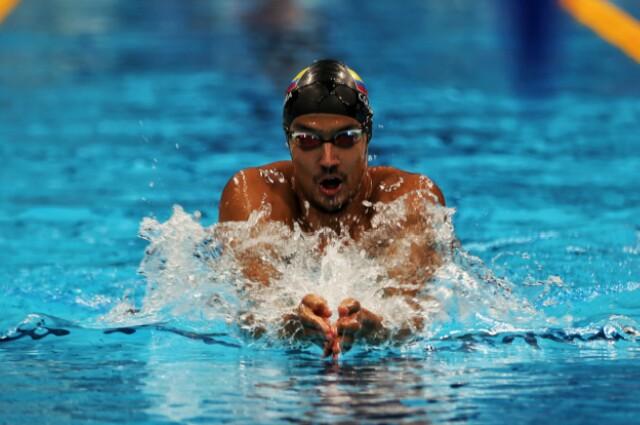 Jorge Murillo, en los Juegos Olímpicos de Tokio