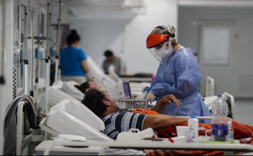 Pacientes con coronavirus en Colombia