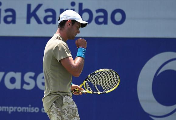 Nicolás Mejía clasificó a cuartos de final del Challenger de Orlando.