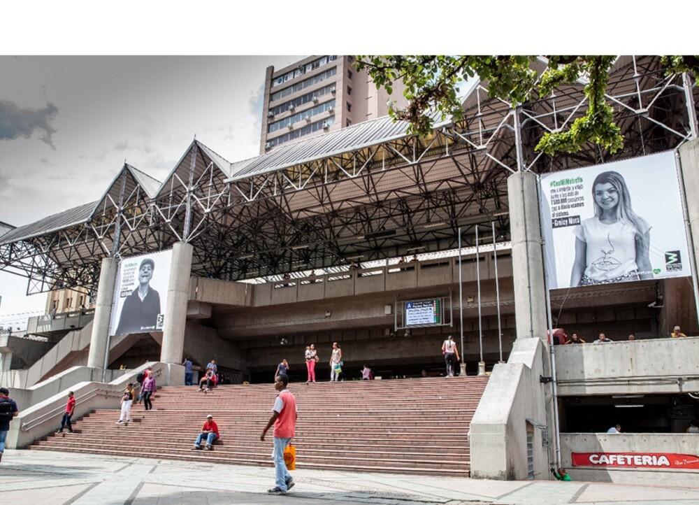 371851_BLU Radio // Estación Parque Berrío del Metro de Medellín // Foto: COrtesía