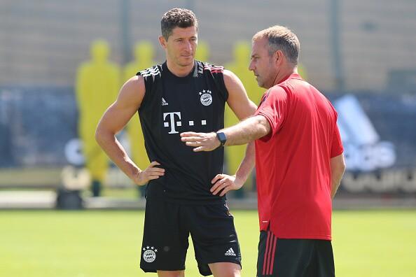 Lewandowski y Flick