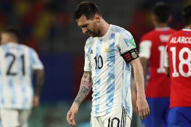 Lionel Messi, en Argentina