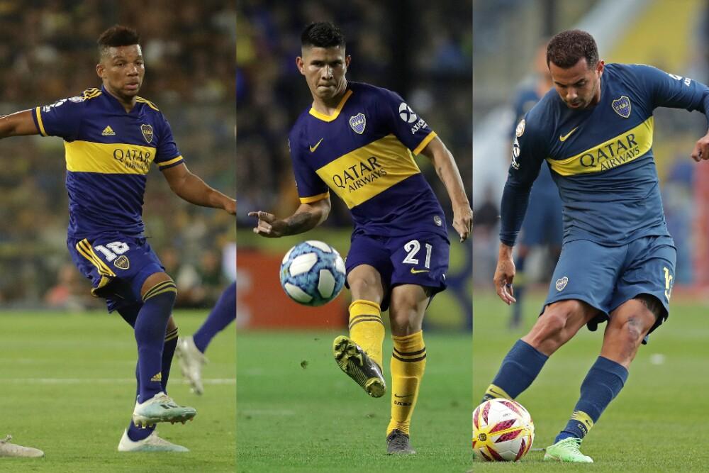 Fabra Campuzano Cardona Boca Juniors 070920 AFP E.jpg