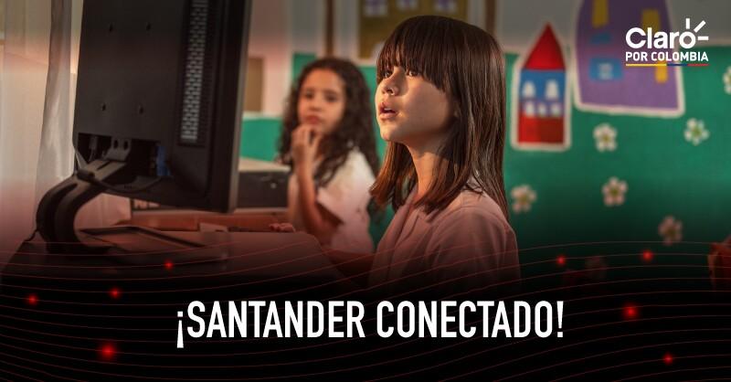 Quince centros poblados en Santander, conectados por primera vez a Internet móvil 4G de Claro