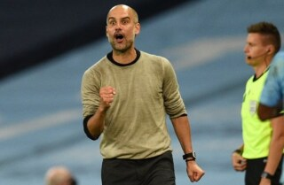 Pep Guardiola contra Real Madrid