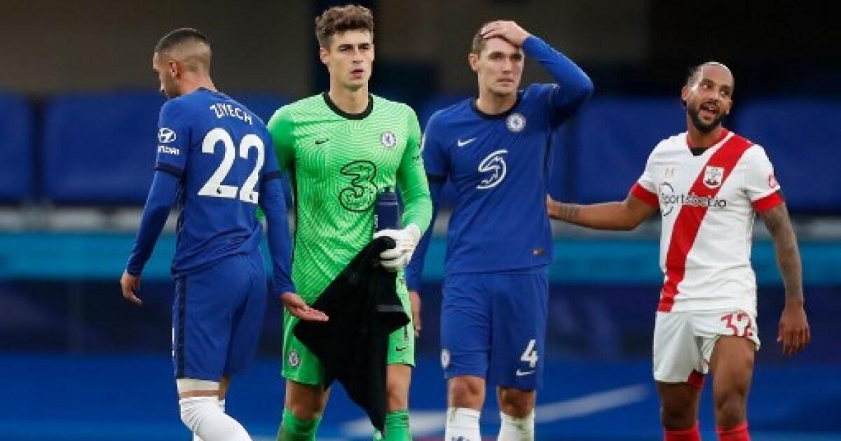 Chelsea pierde terreno en la Premier League: empató 3-3 con el Southampton sobre el final
