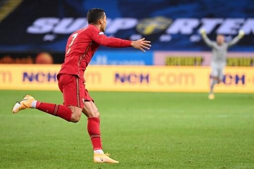 Cristiano Ronaldo gol vs Suecia