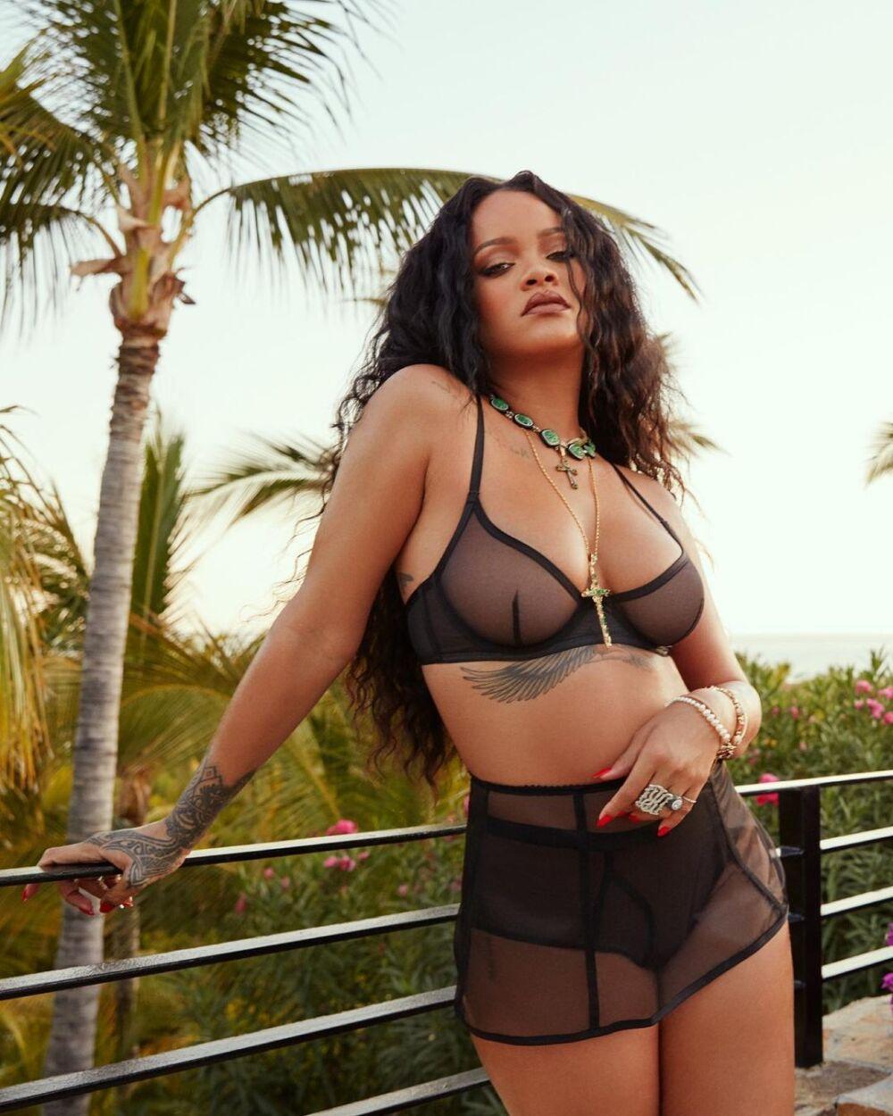 Rihanna luce despampanante en nueva fotografía de Instagram.