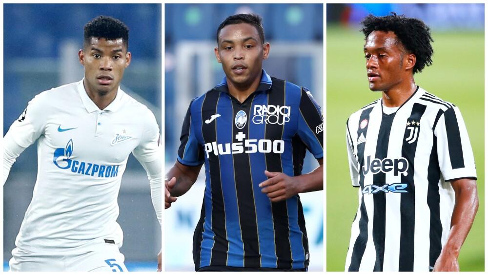 Jugadores colombianos en Champions League, este martes 14 de septiembre