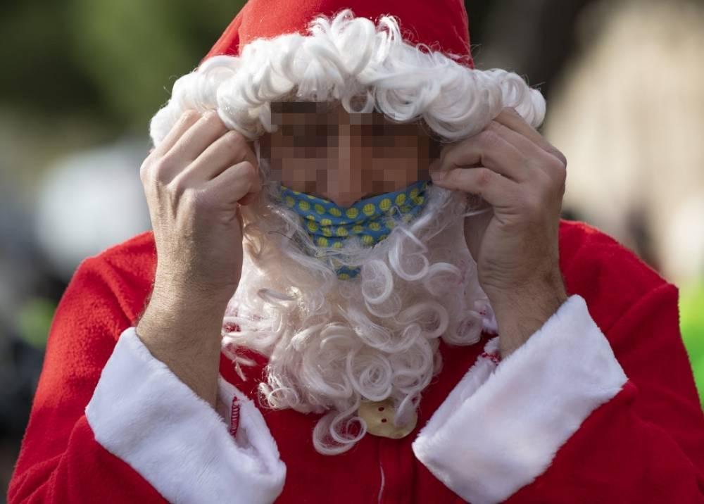 Papá Noel - pandemia
