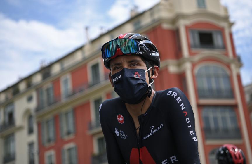 Egan Bernal, ciclista colombiano.