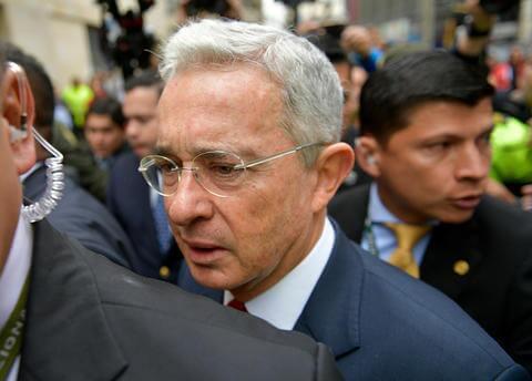 Álvaro Uribe : AFP.jpeg