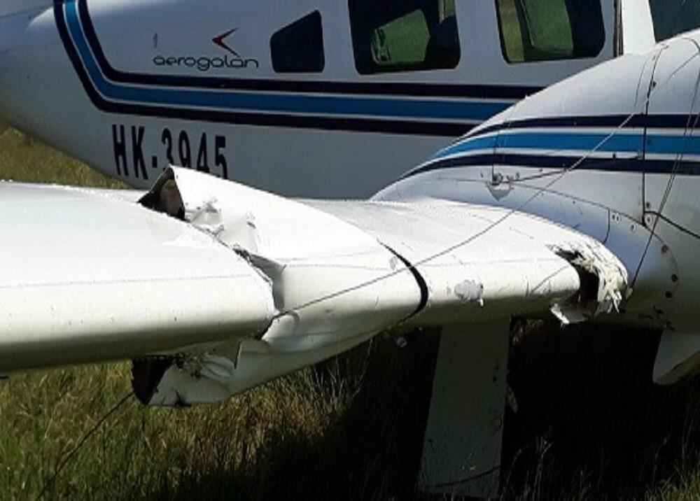 329789_BLU Radio. Avioneta de valores raptada en Aguachica/ foto: suministrada.