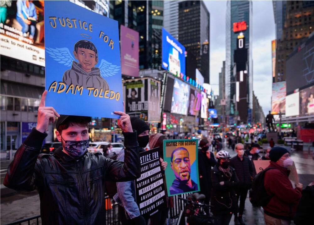 Protestas por muerte de Adam Toledo Foto AFP.jpg