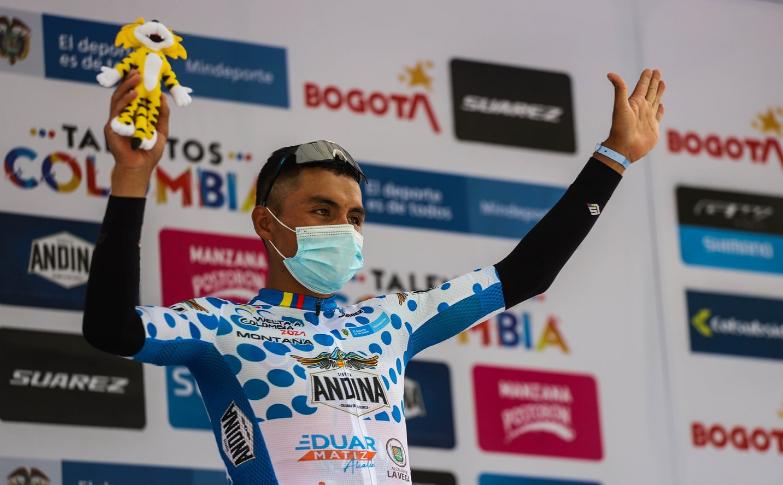 Yesid Pira fue una de las estrellas de la Vuelta a Colombia 2021.
