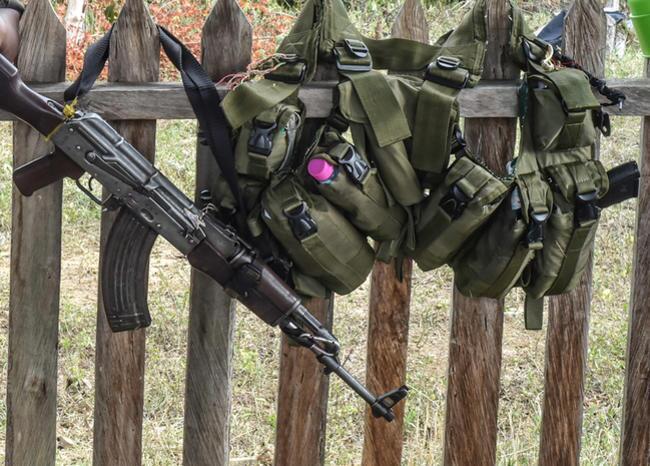 286404_BLU Radio. Armas Farc / Foto de referencia: AFP