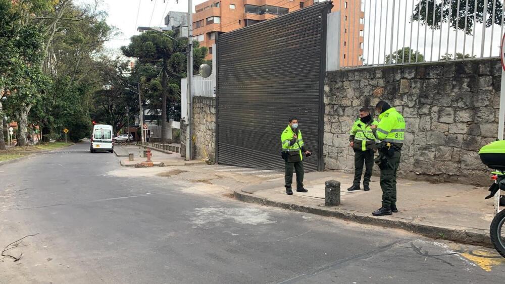 Atraco en Bogotá