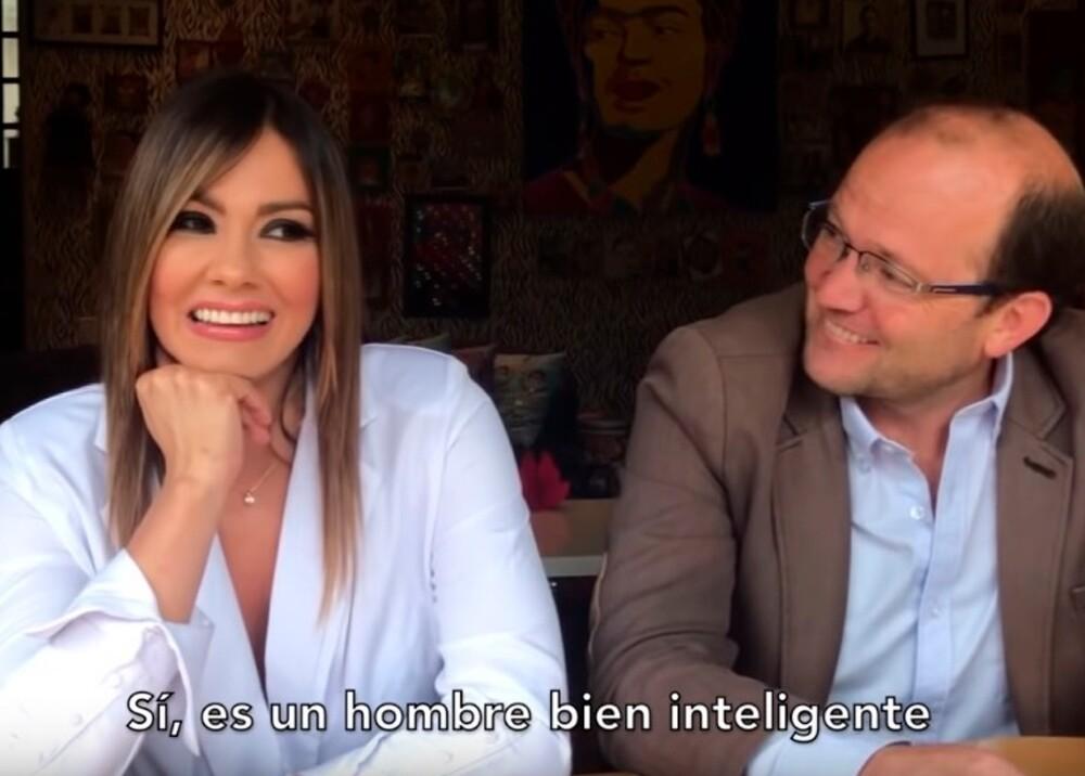 353817_BLU Radio. Esperanza Gómez y Daniel Samper Ospina / Foto: Captura de video de YouTube