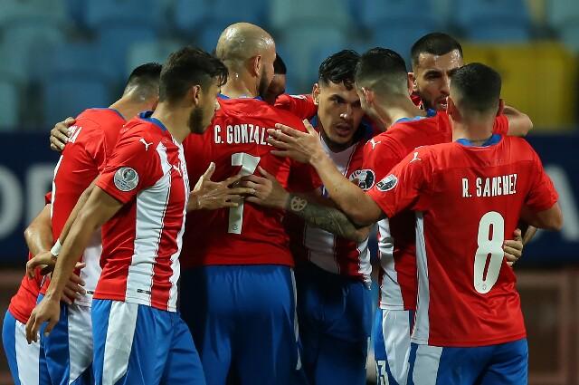 Gol de la Selección de Paraguay