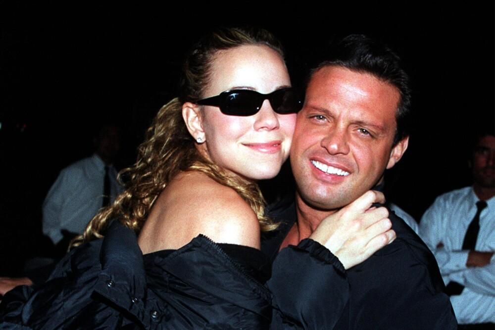 Mariah Carey y Luis Miguel en Beverly Hills, CA.