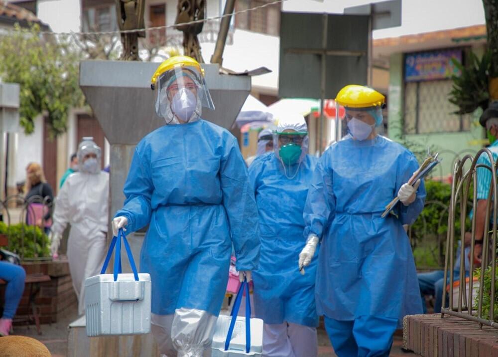 368121_BLU Radio. Búsqueda activa de casos de coronavirus / Foto: Gobernación de Santander