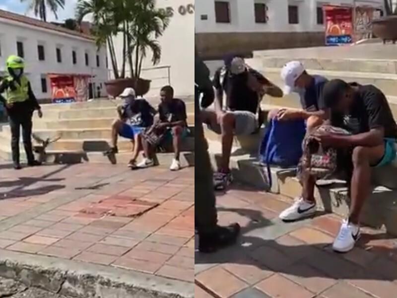 Venezolanos cazan palomas para sobrevivir