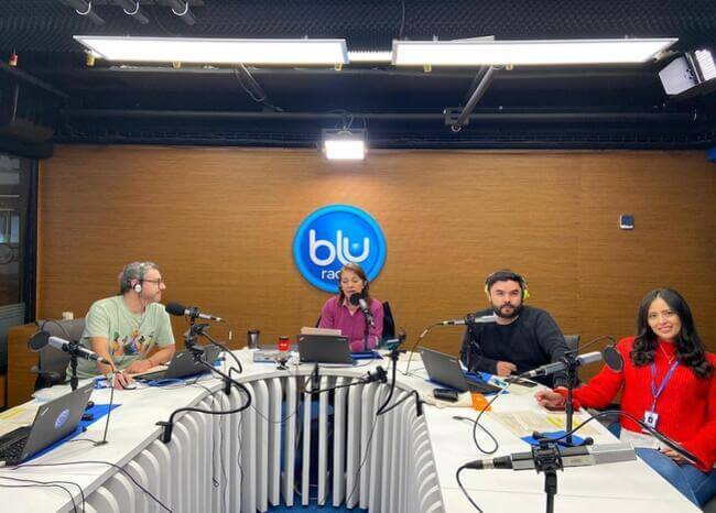 Equipo de En BLU Jeans. Foto: BLU Radio