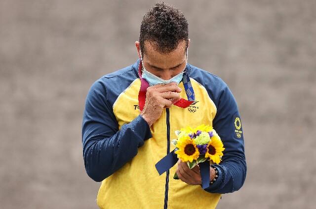 Carlos Ramírez, en los Juegos Olímpicos de Tokio 2020
